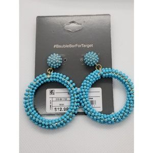 SugarFix by BaubleBar circle earrings💙